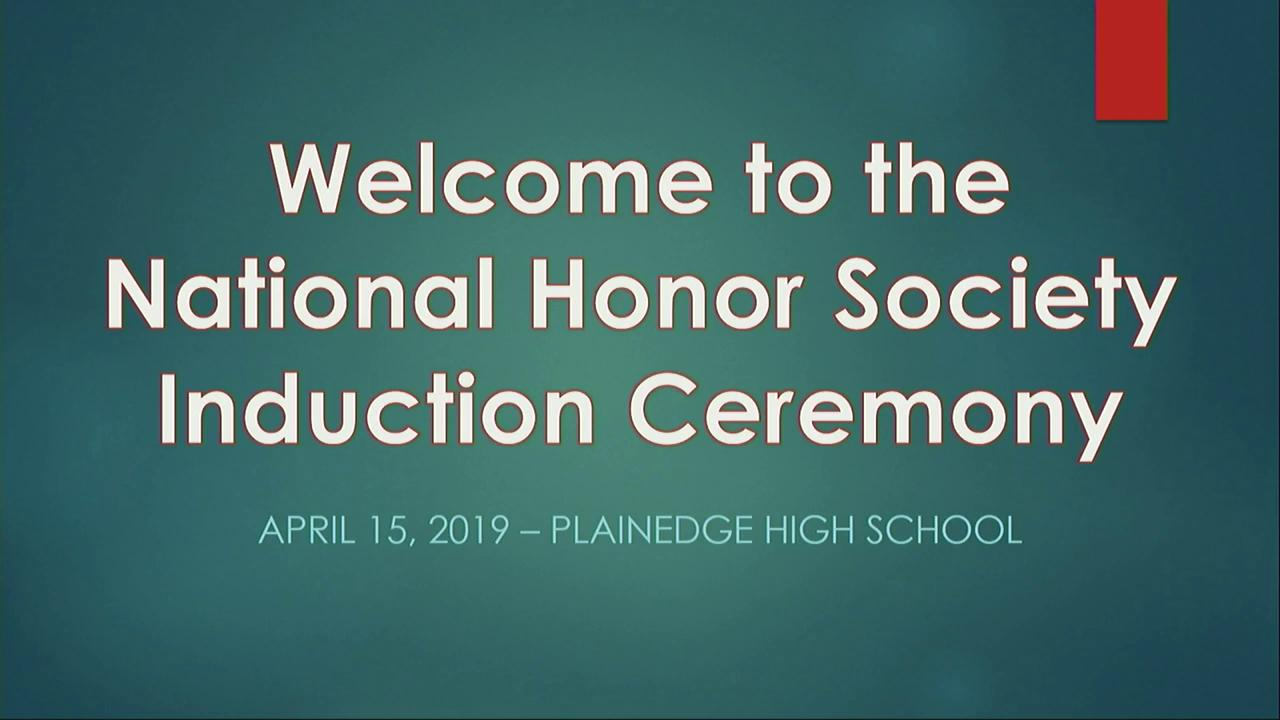 NHS INDUCTIONS - 4/15/2019